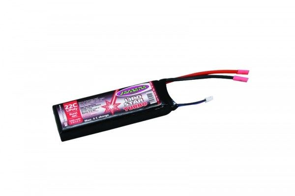Batería - Lipo Star Turbo - Jamara - 7,4 V - 1800 mah