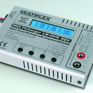 Cargador de Baterías MULTIcharger LN-6015 EQU + fuente de alimentación
