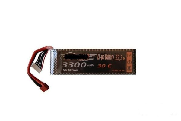 Batería Lipo para e.g. Yak 54 Epo - 22,2 V - 3300 mah - 30C