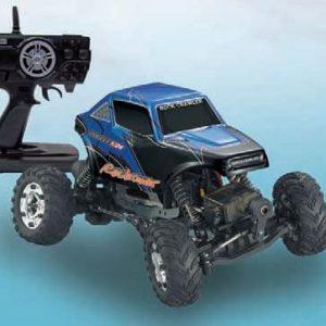 1:24 Rock Crawler Eléctrico - 4WS Tracción + dirección a las 4 ruedas