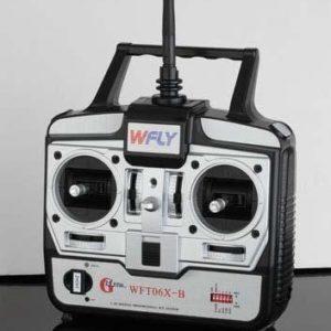 Emisora 2,4 Ghz. WFT06X-C - 4 Canales de W-Fly