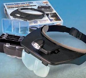 Gafas Lupa con ópticas intercambiables y potentes LEDs