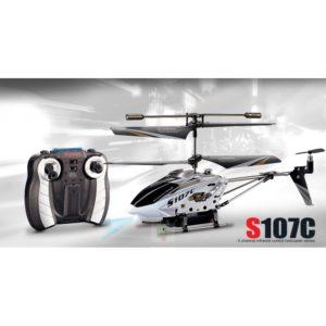 Helicóptero Syma S107C - 3,5 Canales - Coaxial - RTF con Cámara
