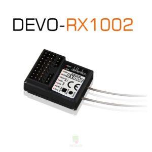 Receptor DEVO RX1002 - 10 Canales - 2,4 Ghz. - Walkera