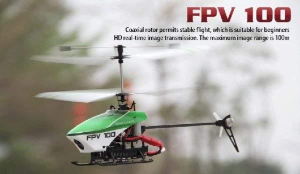 Walkera FPV100 BNF para emisoras Devo F - Spooky Tested