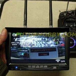 "Monitor 7"" de Video FPV - 5,8 Ghz. - Doble Receptor"