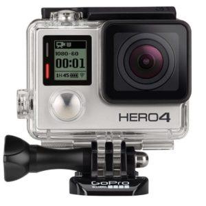 """GoPro Cámara Hero4 """"Silver Edition"""""""