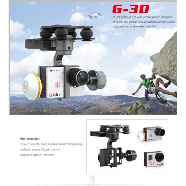 G-3D - Gimbal Brushless de Walkera - 3 Ejes