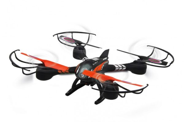 Jamara LOKY - Multicóptero FPV con cámara y LEDs