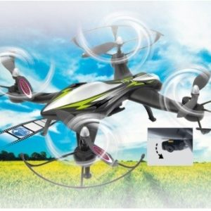 Jamara F1X - Multicóptero FPV con cámara WiFi