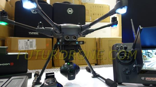 Yuneec Typhoon H Pro Real Sense con ST16, Wizard , 2 baterias y mochila