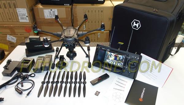 Typhoon H Intel Real Sense contenido del kit