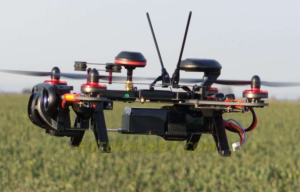Walkera Runner 250 Advance volando en Futurhobby, España