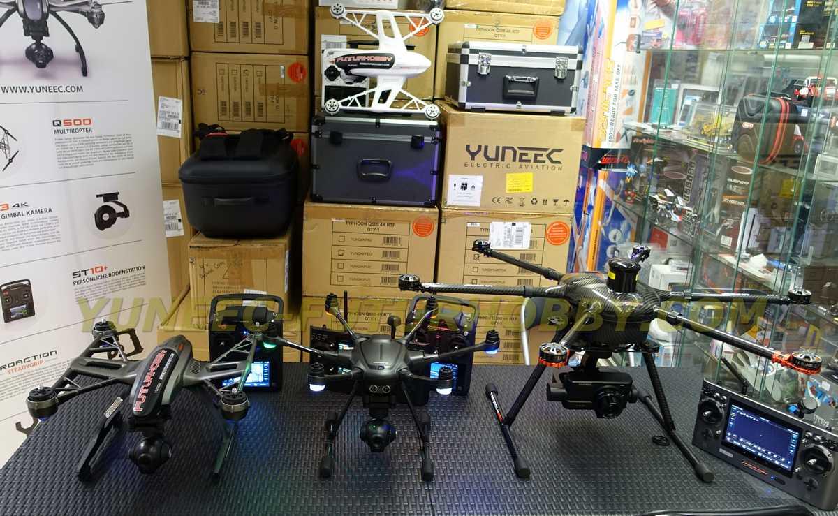 Comparativa drones Yuneec