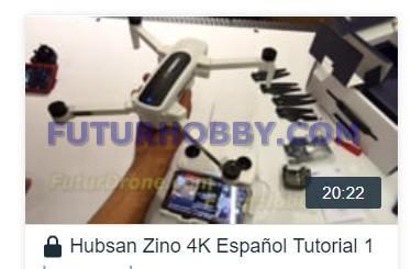 Hubsan Zino Español Instrucciones Vídeo